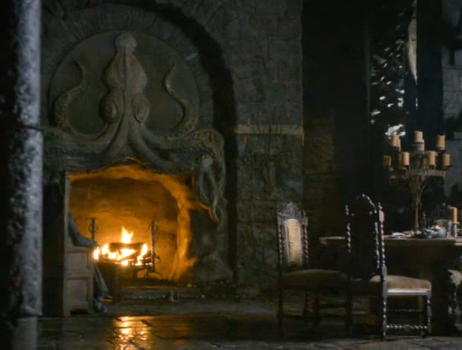 Game of thrones mantel
